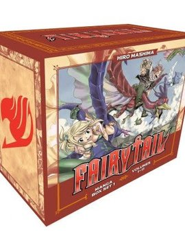 Kodansha Fairy Tail Collection 1 Box Set (Vol. 1 - 11) (Manga Box Set)