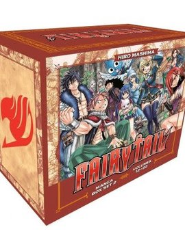 Kodansha Fairy Tail Collection 2 Box Set (Vol. 12 - 22) (Manga Box Set)