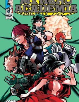 Viz Media My Hero Academia Vol. 22