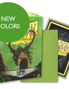Dragon Shield Dragon Shield Matte 100Ct: Lime