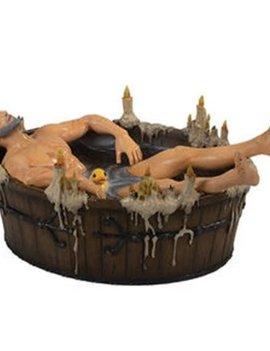 The Witcher 3 Wild Hunt Geralt in the Bath Statue