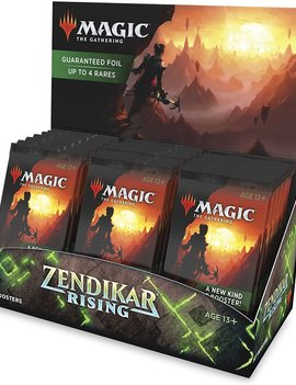 WizardsOfTheCoast MTG Zendikar Rising Set Booster Box