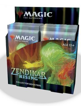 WizardsOfTheCoast MTG Zendikar Rising Collector Booster Box (PRE-ORDER)