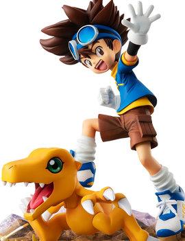 Megahouse Digimon Adventure: G.E.M. Series Yagami Taiichi & Agumon 20th Anniversary Ver.