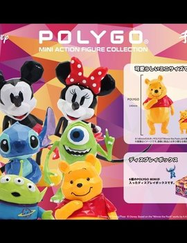 Disney PolyGo Disney Mini Action Figure Collection Blind Box