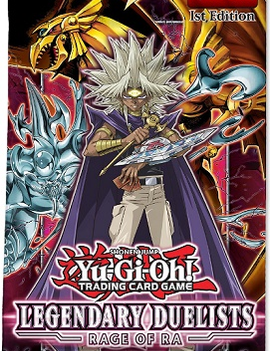 Konami Yu-Gi-Oh! Legendary Duelists Rage of Ra Booster Pack