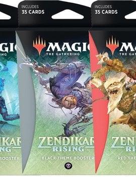 WizardsOfTheCoast MTG Zendikar Rising Theme Booster