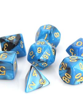 Die Hard Dice Die Hard Dice RPG SET - Blue/Black Marble
