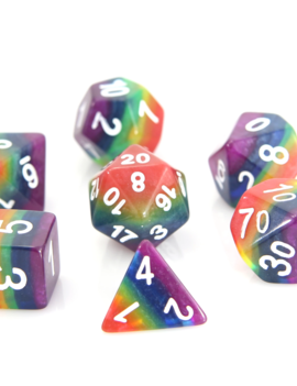 Die Hard Dice Die Hard Dice RPG SET - Rainbow