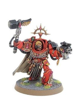 Games Workshop Blood Angels Captain In Terminator Armour