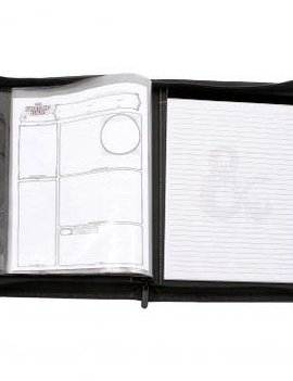 Ultra Pro Ultra Pro Dungeons and Dragons Premium Zippered Character Folio
