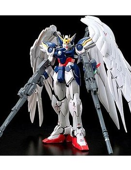 BANDAI Gundam Wing: Endless Waltz #17 Wing Gundam Zero Real Grade Model Kit
