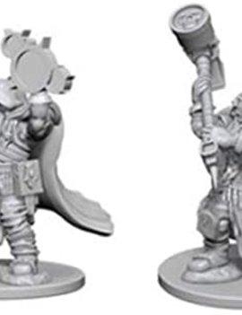 WizardsOfTheCoast D&D Nolzur's Marvelous Miniatures Wave 2 DWARF MALE CLERIC