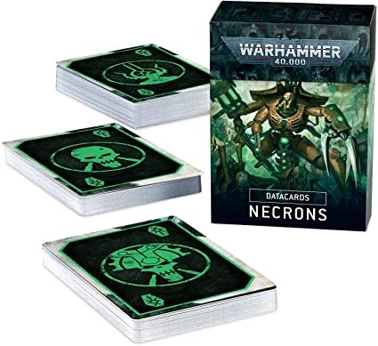 Datacards: Necrons (9th Edition)