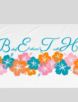 The Bounty Store B.E.T.H. Beach Towel Limited Print