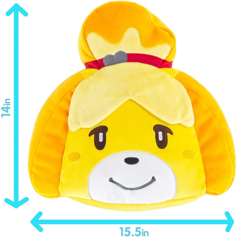 TOMY Isabelle Head Club Mocchi Mocchi Cushion - Animal Crossing