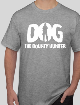 The Bounty Store Dog The Bounty Hunter - Caricature Shirt (Gamer Oasis Exclusive)