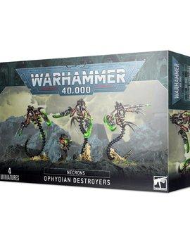 Games Workshop Necrons: Ophydian Destroyers