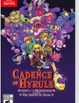 Brace Yourself Games Cadence of Hyrule: Crypt of the NecroDancer Featuring The Legend of Zelda NEW