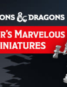 WizardsOfTheCoast D&D Nolzur's Marvelous Miniatures Wave 12.5