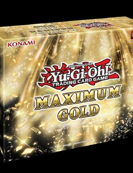Konami Yu-Gi-Oh! Maximum Gold - Box