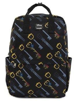Funko Kingdom Hearts Keys Print Nylon Backpack