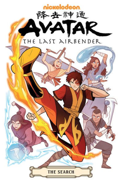 Avatar: The Last Airbender - The Search Omnibus