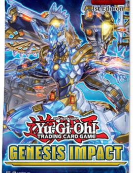 Konami Yu-Gi-Oh! Genesis Impact Booster Pack