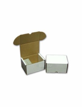 Cardboard Card Box: 330Ct Top Loader