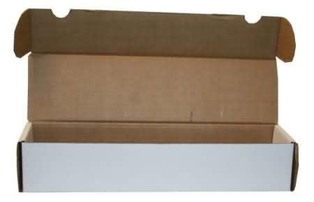 Cardboard Card Box: 550Ct