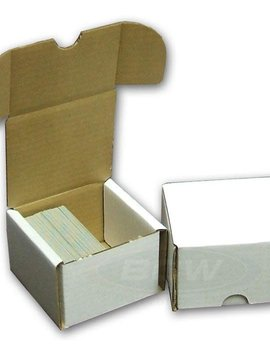 Cardboard Card Box: 200Ct