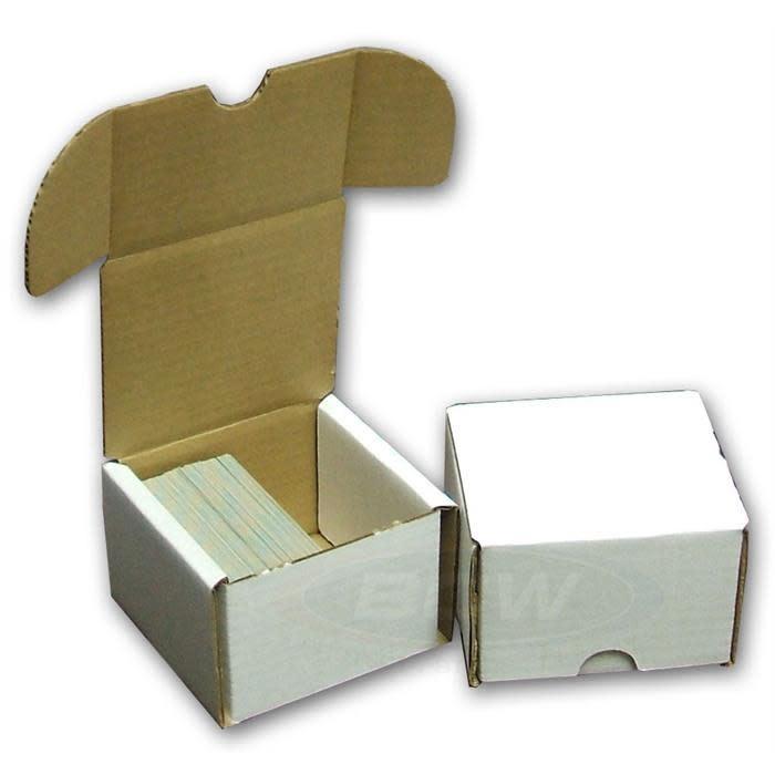Cardboard Card Box: 200Ct