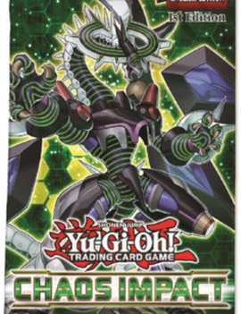 Yu-Gi-Oh! Chaos Impact Booster Pack