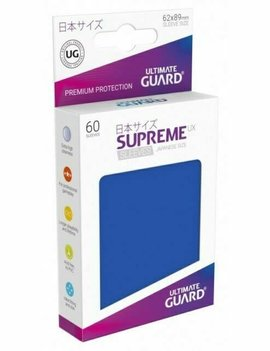 Ultimate Guard UG Small UX Sleeves 60Ct: Royal Blue