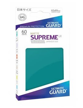 Ultimate Guard UG Small  UX Sleeves 60Ct: Petrol