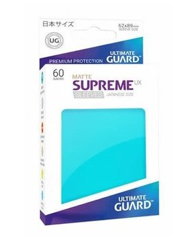 Ultimate Guard UG Small UX Sleeves 60Ct: Aquamarine