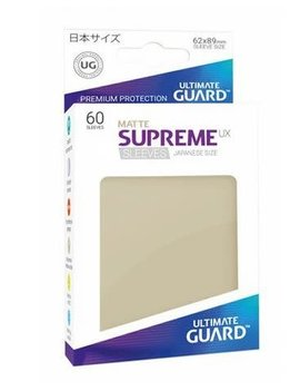 Ultimate Guard UG Small UX Sleeves 60Ct: Sand