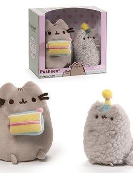 Gund Pusheen the Cat Birthday Collector Set Plush