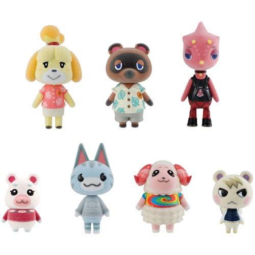 BANDAI Animal Crossing: New Horizons Villager Collection Mini-Figure Set