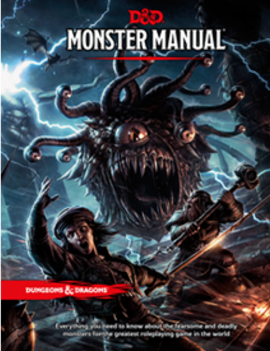 WizardsOfTheCoast D&D 5E Staples: Monster Manual