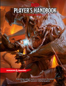 WizardsOfTheCoast D&D 5E Staples: Player's Handbook