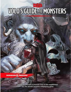 WizardsOfTheCoast D&D 5E Staples: Volo's Guide to Monsters