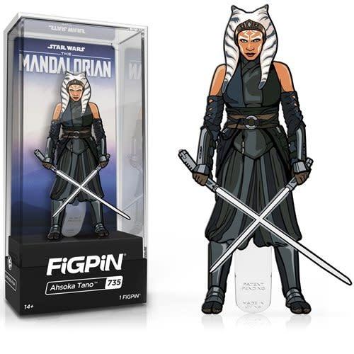 FiGPiN Ahsoka Tano #735 - FiGPiN: Star Wars: The Mandalorian Season 2 Enamel Pin