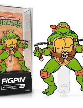 FiGPiN Michelangelo #567 - FiGPiN: Teenage Mutant Ninja Turtles