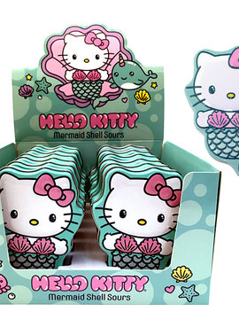 Boston America Hello Kitty Mermaid Shell Sour Candy Tin