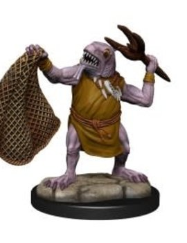 WizKids Kuo-Toa and Kuo-Toa Whip - D&D: Nolzur's Marvelous Miniatures Wave 14