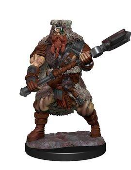 WizKids Male Human Barbarian - D&D: Nolzur's Marvelous Miniatures Wave 14