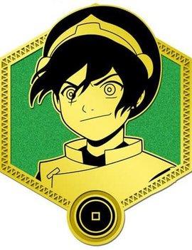Zen Monkey Gold Toph Enamel Pin - Avatar: The Last Airbender
