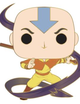 Funko Aang Large Enamel POP! Pin - Avatar: The Last Airbender