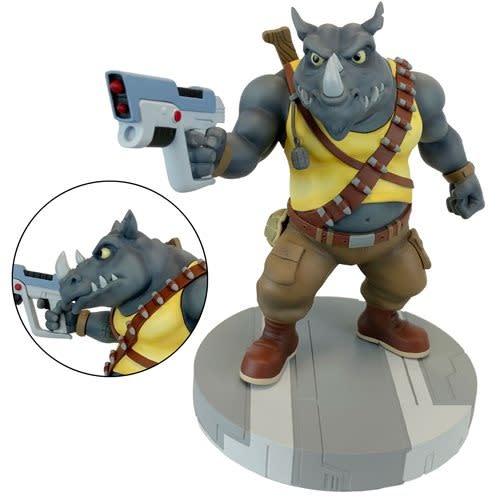 Rocksteady 1:8 Scale Statue - TMNT